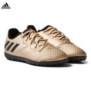adidas Performance Boys Sport footwear Gold Copper Messi 16.3 Turf Football Boots