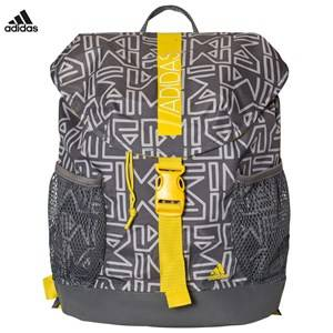 adidas Performance Boys Bags Grey Grey Abstract Print Backpack