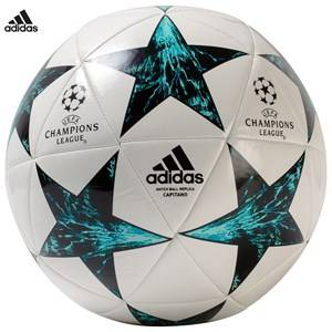 adidas Performance Boys Balls and ball pumps White Finale 17 Capitano Soccer Ball