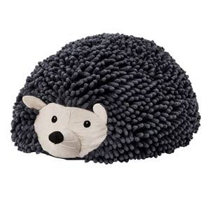 Kids Concept Unisex Furniture Grey Edvin Hedgehog Pouf Seat
