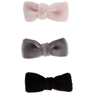 Petit by Sofie Schnoor Girls Hair accessories Black Hair Clips Bow Mixed Colours