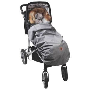 Easygrow Unisex Norway Assort Stroller accessories Grey Storm Cover Universal Grey