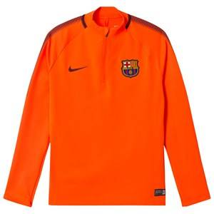 Barcelona FC Unisex Sporting replica Orange Junior FC Barcelona Drill Top