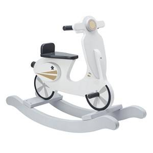 Kids Concept Unisex Ride ons and walkers Grey Rocking Scooter Grey/White