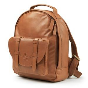 Elodie Details Unisex Bags Brown BackPack MINI - Chestnut Leather