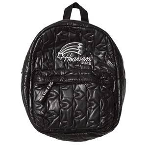 IKKS Girls Bags Black Black Quilted Backpack