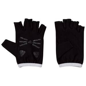 Karl Lagerfeld Kids Girls Gloves and mittens Black Black Fingerless Mittens