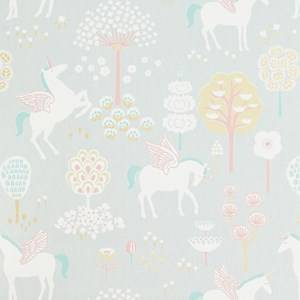 Majvillan Unisex Home accessories Grey rue Unicorn Wallpaper Grey