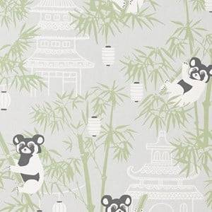 Majvillan Unisex Home accessories Grey Bambu Wallpaper Grey