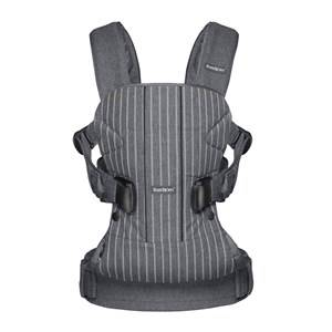 Babybjörn Unisex Norway Assort Carriers and slings Grey Baby Carrier One Pinstripe/Grey