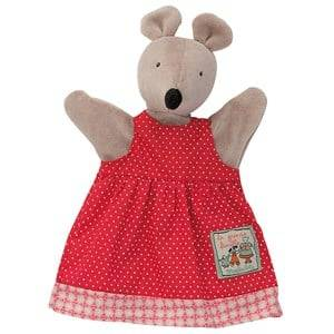 Moulin Roty Unisex Role play Red Nini the Mouse Handpuppet