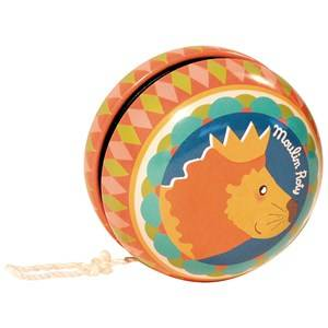 Moulin Roty Unisex Puzzles and games Orange Multicoloured Yoyo with Lion