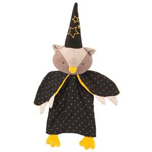 Moulin Roty Unisex Soft toys Black Black Owl Magican Doll