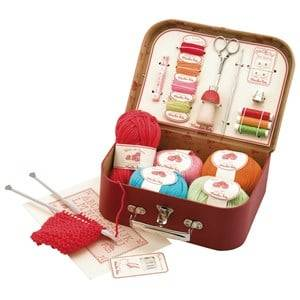 Moulin Roty Unisex Role play Red Red Sewing Kit