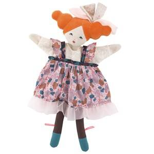 Moulin Roty Unisex Role play Pink The Alluring Dame Hand Puppet