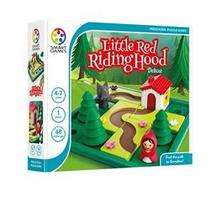 Smart Games Unisex Board and Parlor games White Little Red Riding Hood
