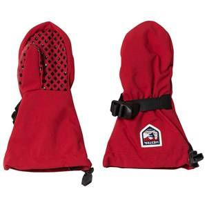 Hestra Unisex Gloves and mittens Red Fjellvott Jr. Mitten Red