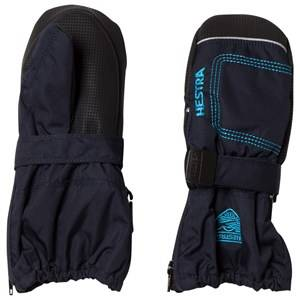 Hestra Unisex Gloves and mittens Navy Baby Zip Long Mitten Navy