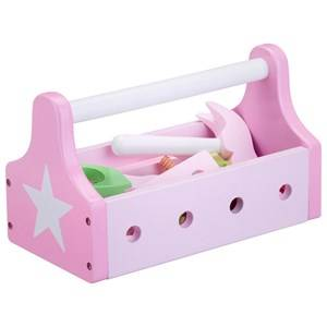 Kids Concept Unisex Role play Pink Toy Tool Kit Star Pink