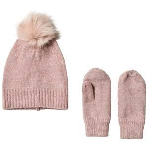 Petit by Sofie Schnoor Girls Winter sets Pink Hat And Gloves Rose