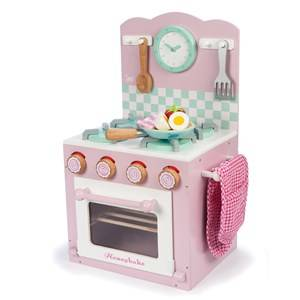 Le Toy Van Unisex Role play Pink Toy Oven & Hob Set