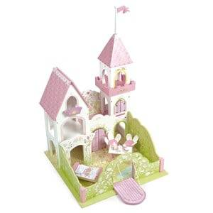Le Toy Van Unisex Figurines and playsets White Fairybelle Palace Playhouse