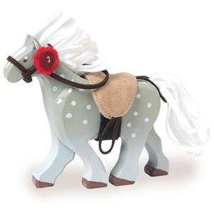 Le Toy Van Unisex Figurines and playsets Grey Budkins® Grey Horse