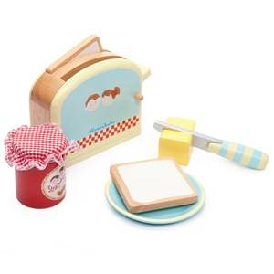Le Toy Van Unisex Role play Blue Honeybake® Toaster Set