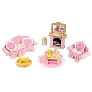 Le Toy Van Unisex Dolls and doll houses Pink Daisylane Sitting Room Dolls House Furniture