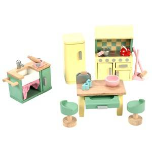 Le Toy Van Unisex Dolls and doll houses Yellow Daisylane Kitchen Dolls House Furniture