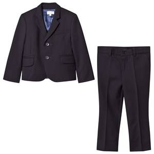 Paul Smith Junior Boys Suits and tailoring Navy Navy Travel Wool Suit (MINI ME)