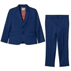 Paul Smith Junior Boys Suits and tailoring Blue Royal Blue Cool Wool Suit
