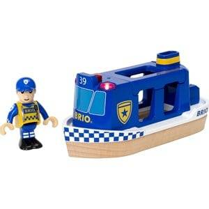 Brio Unisex Vehicles Multi Police Boat