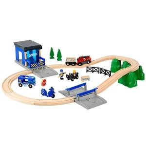 Brio Unisex Vehicles Multi Rescue Police Set