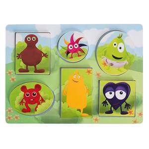 Babblarna Unisex Puzzles & Collectible Series Multi Pussel, Tittutpussel, 6 Figurer