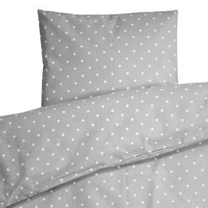 Färg & Form Unisex Bedding Grey Grey Dots Bed Set Cot/Stroller
