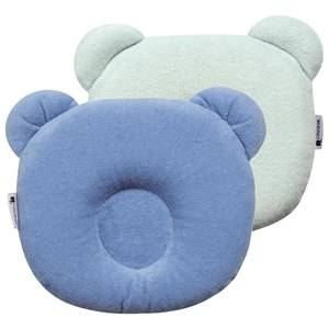 Candide Unisex Bedding Blue P'tit Panda Pillow Blue