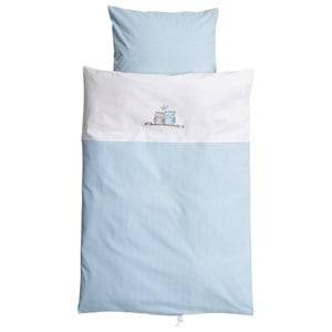 Baby Dan Boys Norway Assort Bedding Blue Love Birds Baby Linen Blue
