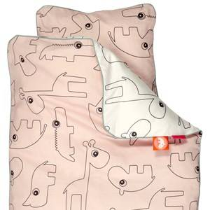 Done by Deer Unisex Baby Gear Bedding Pink Contour Baby Bedlinen Powder