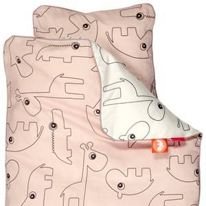 Done by Deer Unisex Baby Gear Bedding Pink Contour Grown-up Bedlinen Powder