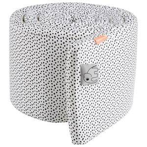 Done by Deer Unisex Baby Gear Bedding White Happy Dots Bumper White