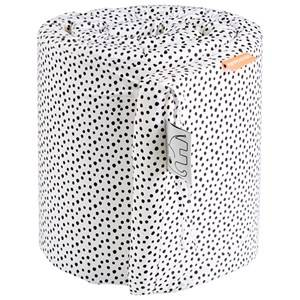 Done by Deer Unisex Bedding Multi Happy Dots Bumper White