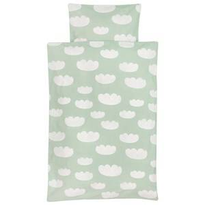 ferm LIVING Unisex Bedding Green Cloud Bedding - Mint - Baby