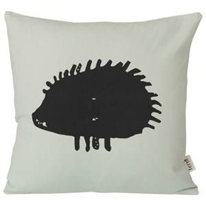 ferm LIVING Unisex Bedding Grey Hedgehog Cushion