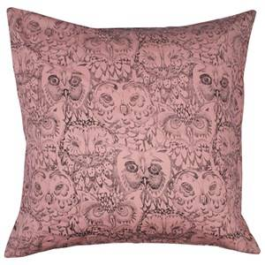 Soft Gallery Unisex Bedding Pink Owl Big Pillow Case Coral