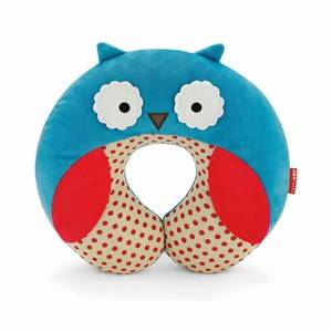 Skip Hop Unisex Bedding Blue Zoo Travel Neckrest Owl