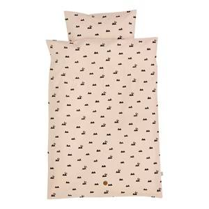ferm LIVING Unisex Bedding Pink Rabbit Bedding - Junior