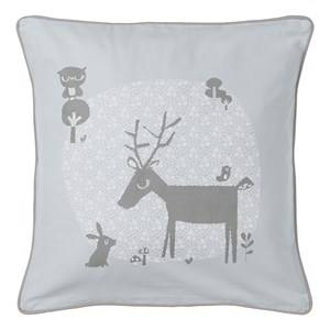 Vinter & Bloom Unisex Bedding Blue Forest Friends Cushion Cover Bluebell
