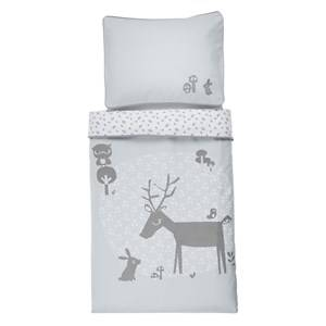Vinter & Bloom Unisex Bedding Blue Forest Friends Bedset Bassinet Bluebell