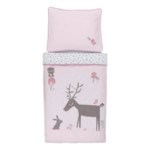 Vinter & Bloom Unisex Bedding Pink Forest Friends Bedset Bassinet Blossom